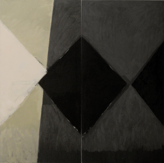 artwork: http://ruthmiemczyk.artweb.com/ Oil on canvas — 183 x 183 cm. 2012